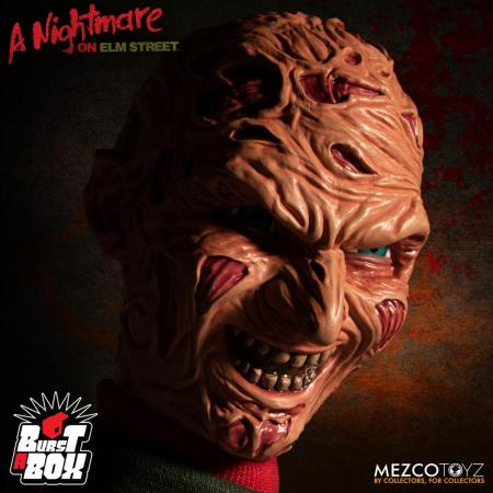 Nightmare On Elm Street Burst-A-Box Music Box Freddy Krueger 36 cm