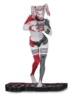 DC Comics Red, White & Black Statue Harley Quinn by Greg Horn 16 cm