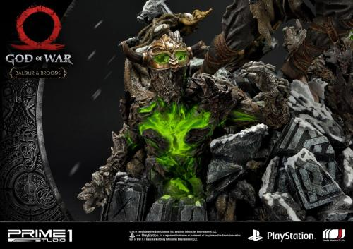 God of War (2018): Baldur & Broods - Statue 62 cm - Prime 1 Studio