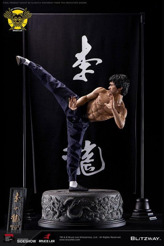 Bruce Lee Statue 1/4 80th Anniversary Tribute 55 cm