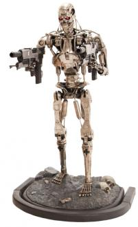 Terminator 2 Statue life size T-800 Sideshow