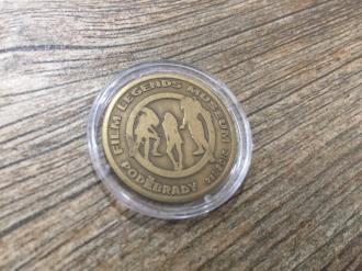 Collectible Coin Film Legends Museum OLD BRASS