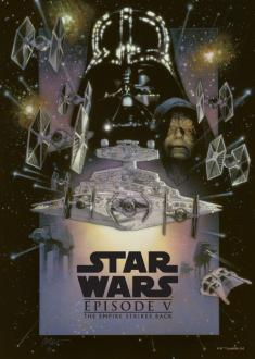 Star Wars Metal Poster The Empire Strikes Back 32x45 cm