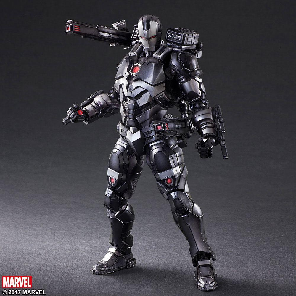 Marvel Comics Variant Play Arts Kai Action Figure War Machine by Hitoshi Kondo 27 cm