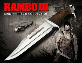 Rambo III Replica 1/1 Knife Masterpiece Collection Standard Edition 46 cm - HCG