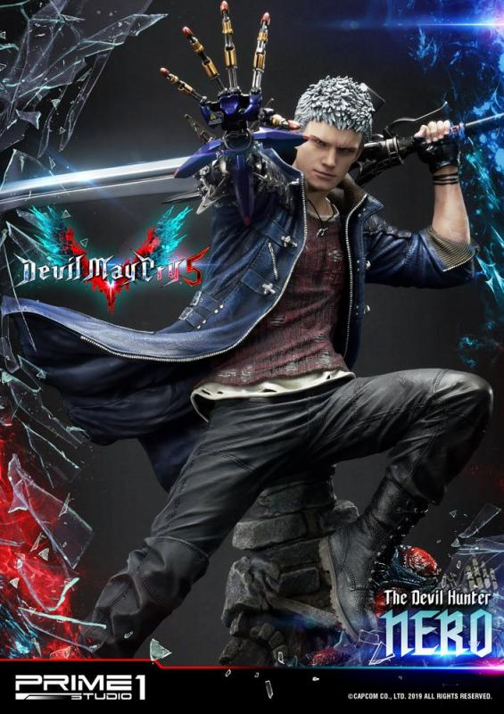 Devil May Cry 5: Nero - Statue 70 cm - Prime 1 Studio