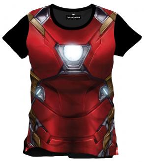Captain America Civil War Sublimation T-Shirt Iron Man