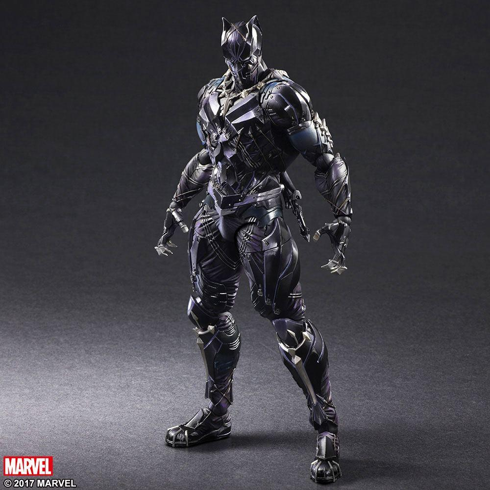 Marvel Universe Play Arts Kai Action Figure Black Panther 27 cm