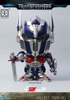 Transformers The Last Knight Super Deformed Vinyl Figure Optimus Prime 10 cm