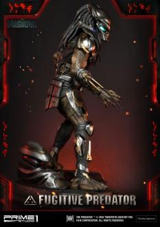 The Predator Statue 1/4 Fugitive Predator 75 cm