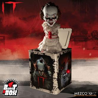 Stephen King's It 2017: Pennywise - Burst-A-Box Music Box 36 cm - Mezco