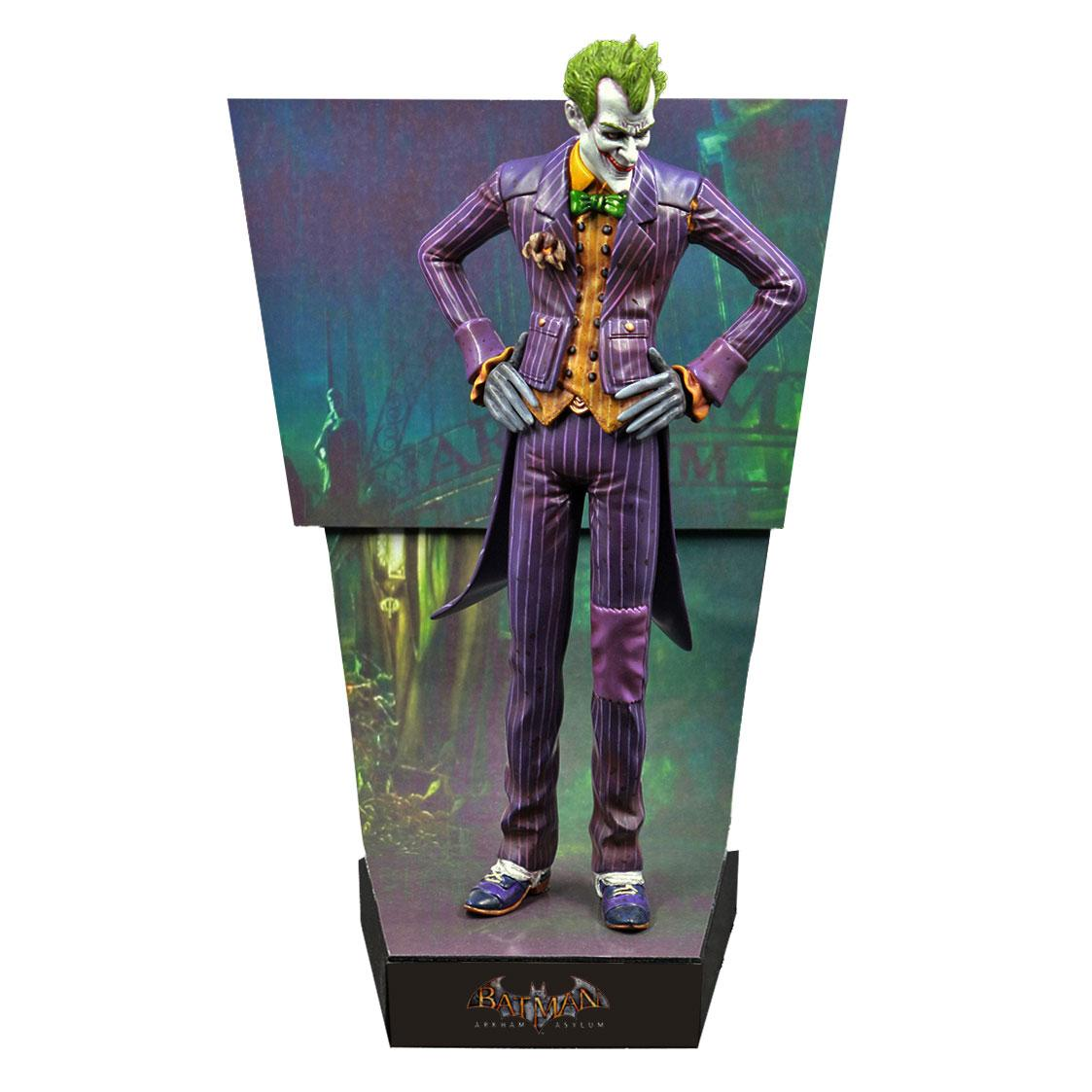 Batman Arkham Asylum Premium Motion Statue The Joker