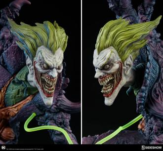 DC Comics: Joker Gotham City Nightmare Collection - Statue 50 cm - Sideshow