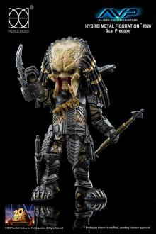 AvP Hybrid Metal Action Figure Scar Predator 14 cm