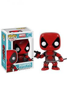 Marvel Comics POP! Vinyl Bobble-Head Deadpool 10 cm