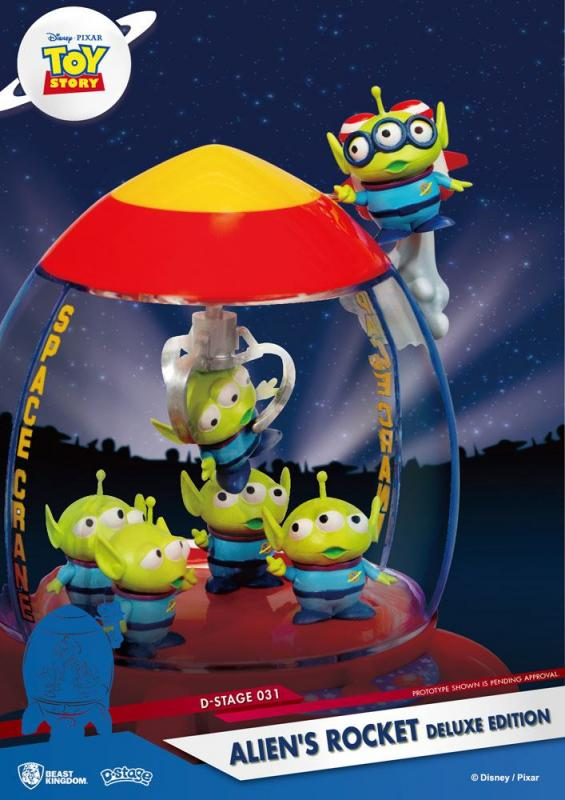 Toy Story D-Stage PVC Diorama Alien's Rocket Deluxe Edition 15 cm
