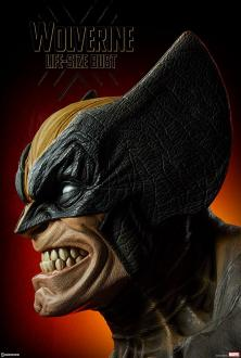 Marvel Comics: Wolverine 1/1 Bust - Sideshow Collectibles