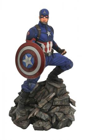 Avengers: Endgame Marvel Movie Premier Collection Statue Captain America 30 cm