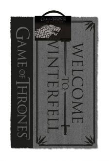 Game of Thrones Doormat Welcome to Winterfell 40 x 57 cm