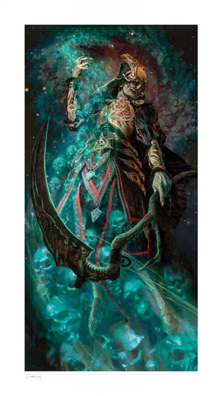 Court of the Dead Art Print Death Ascending by Dave Seeley 46 x 81 cm - unframed