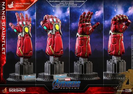 Avengers: Endgame Replica 1/4 Nano Gauntlet Movie Promo Edition 19 cm