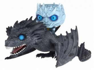 Game of Thrones POP! Rides Vinyl Figure Night King & Viserion 15 cm - Funko