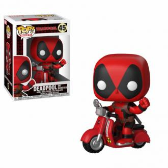 Deadpool POP! Rides Vinyl Figure Deadpool & Scooter 9 cm - Funko