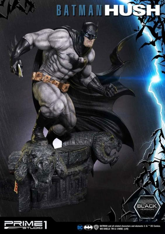 Batman Hush Statue 1/3 Batman Black Version 74 cm