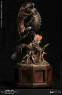Paleontology World Museum Collection Series Statue Coelophysis Red Ver. 42 cm
