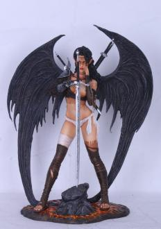 Fantasy Figure Gallery Resin Statue 1/4 Dark Elf (Royo)