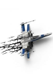 Star Wars 3D LED Lampička X-Wing Hero Starfighter