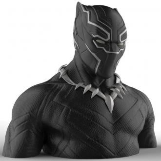 Marvel Comics Coin Bank Black Panther 20 cm