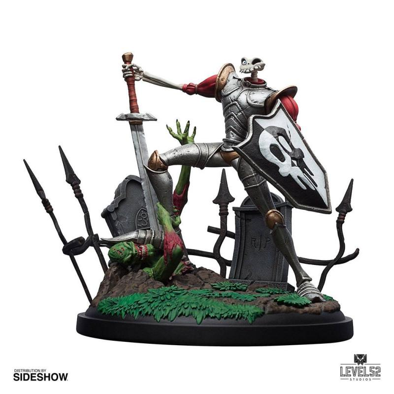 MediEvil Statue Sir Dan Fortesque 24 cm