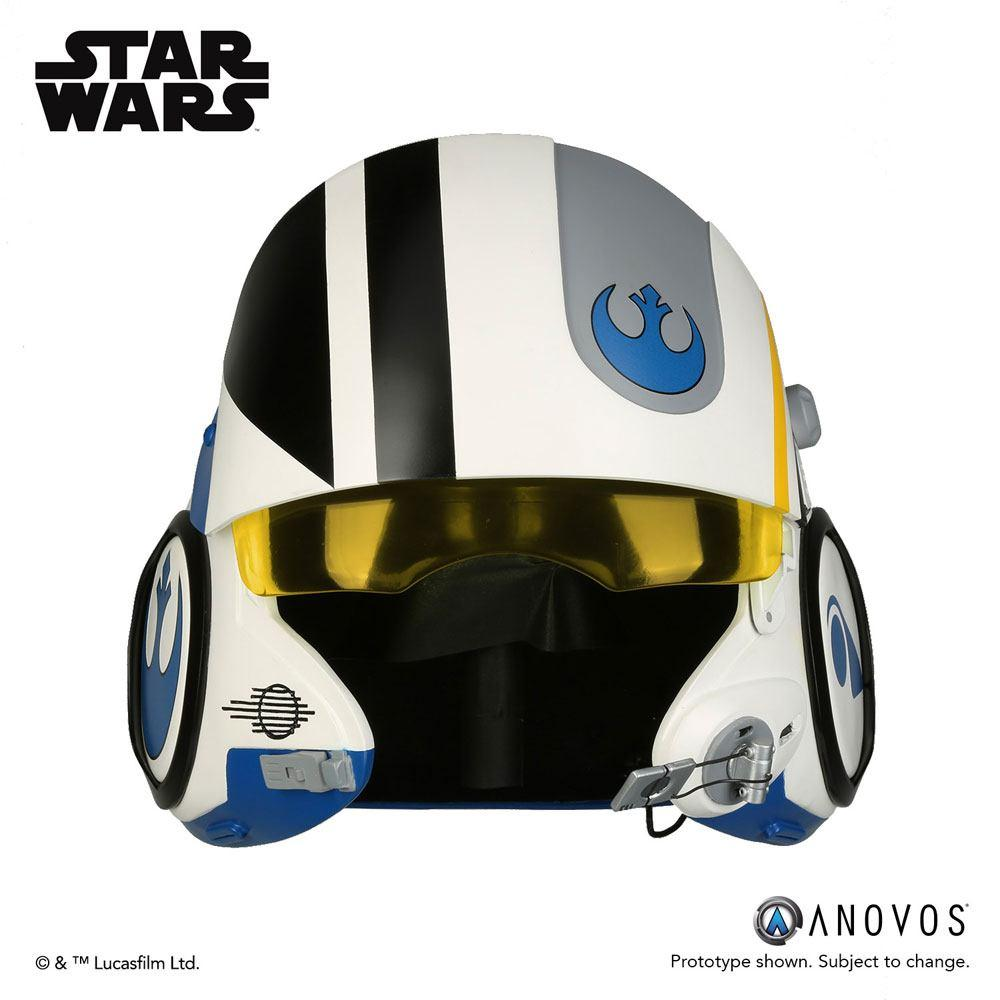 Star Wars Episode VII Replica 1/1 Poe Dameron Blue Squadron Helmet Accessory Ver.