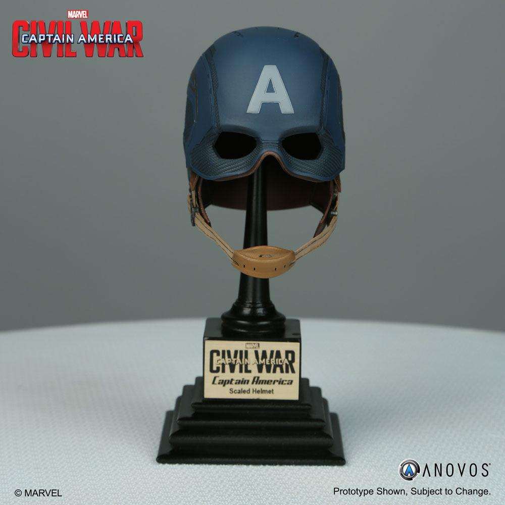 Captain America Civil War Replica 1/3 Captain America Helmet