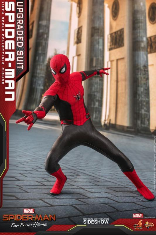 Spider-Man: Far From Home Movie Masterpiece Action Figure 1/6 Spider-Man (Upgraded Suit) 2