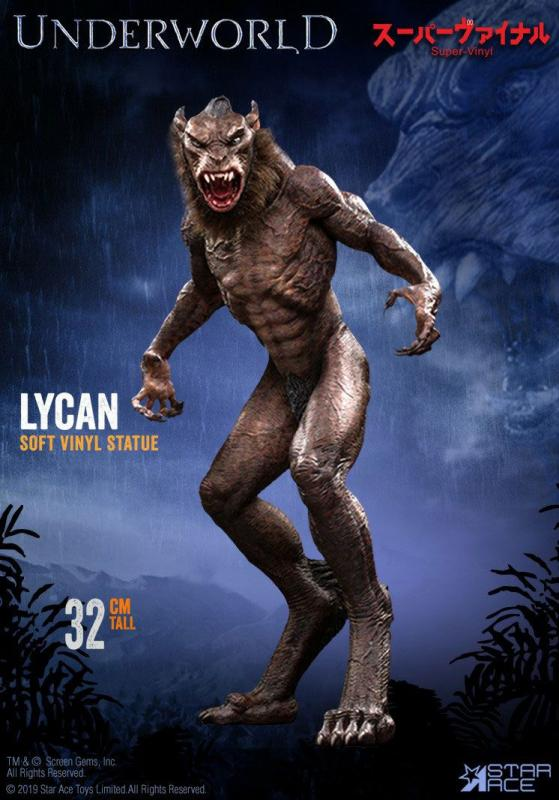 Underworld: Evolution: Lycan 32 cm Vinyl Statue - Star Ace Toys