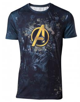Avengers Infinity War Sublimation T-Shirt All Over Team