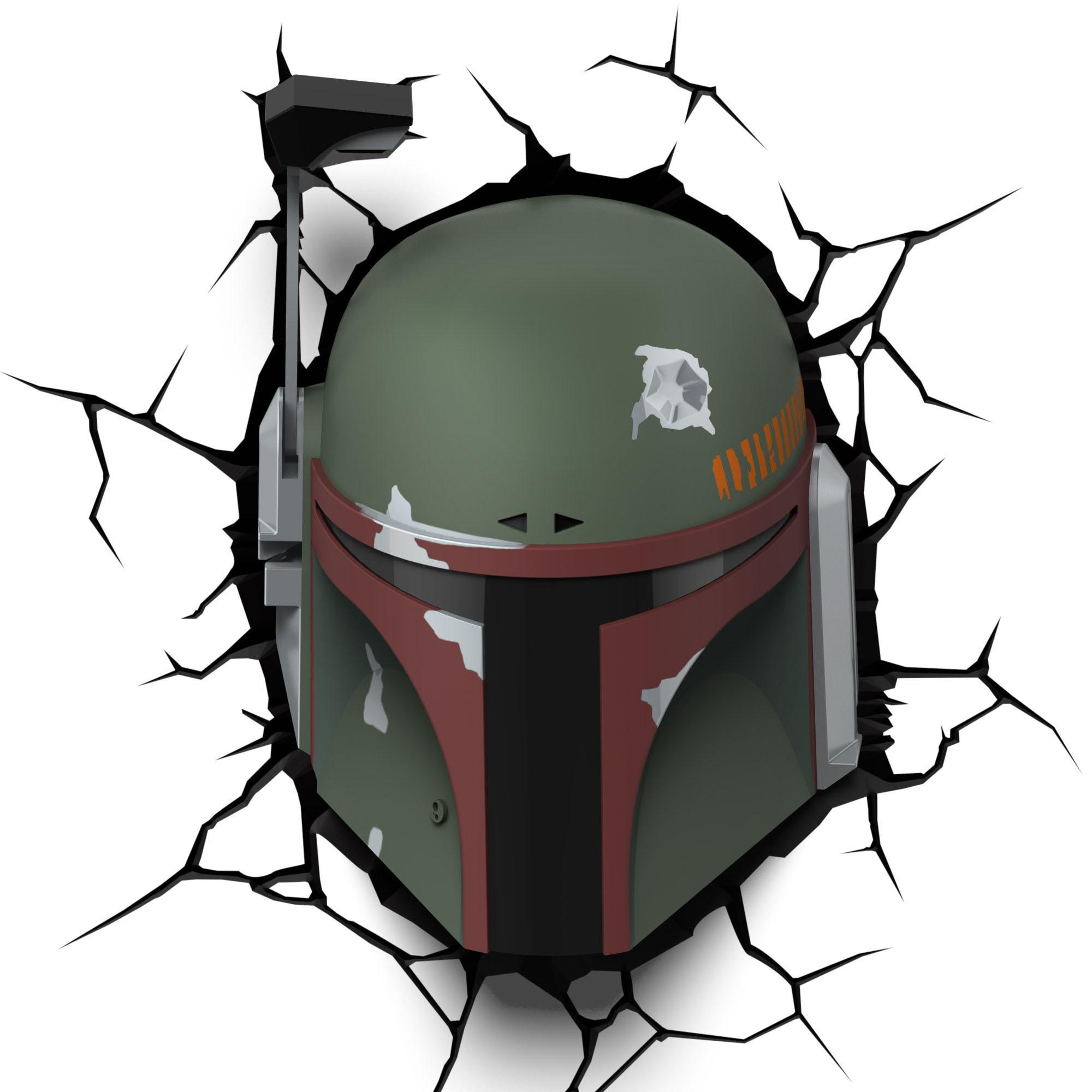 Star Wars 3D LED Lampička Boba Fett