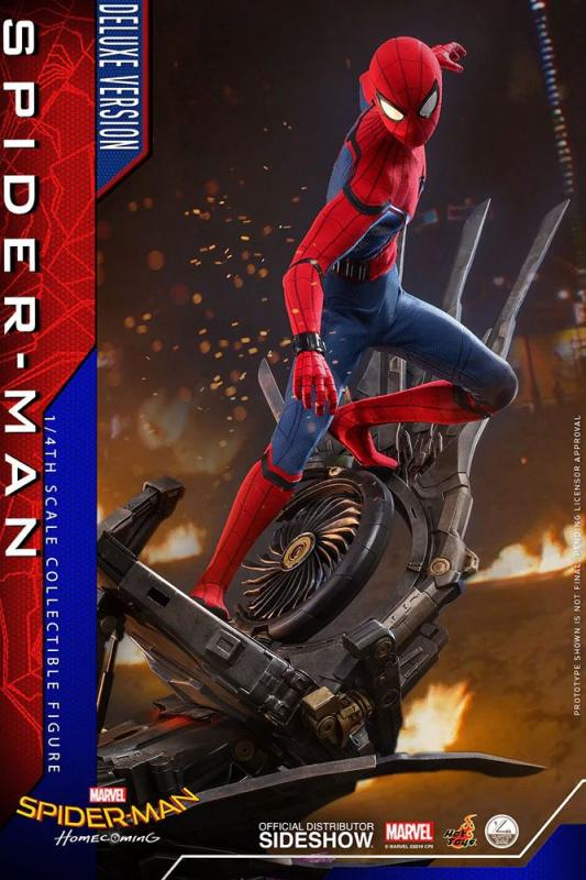 Spider-Man: Homecoming Quarter Scale Series Action Figure 1/4 Spider-Man Deluxe Version 44