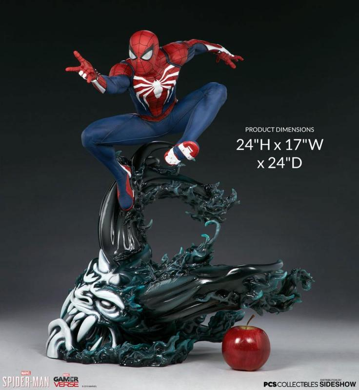 Marvel's Spider-Man Statue 1/3 Spider-Man Advanced Suit 61 cm