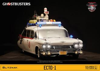 Ghostbusters: ECTO-1 1959 Cadillac Vehicle 116 cm - Blitzway