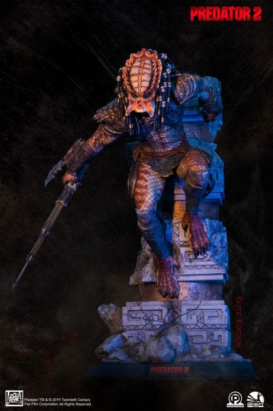 Predator 2: City Hunter Elite Edition - Statue 1/4 - Infinity Studio