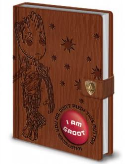 Guardians of the Galaxy Vol. 2 Premium Notebook with Sound A5 I Am Groot
