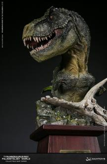 Paleontology World Museum Collection Series Bust Tyrannosaurus Rex Green Ver. 40 cm