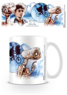 E.T. the Extra-Terrestria Mug ET & Elliott Illustration