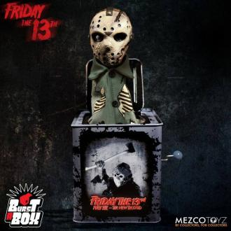 Friday the 13th Burst-A-Box Music Box Jason Voorhees 36 cm