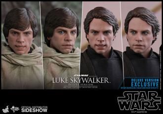 Star Wars Episode VI Action Figure 1/6 Luke Skywalker Endor Deluxe Ver. 28cm
