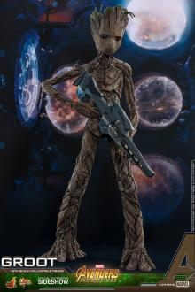 Avengers Infinity War Movie Masterpiece Action Figure 1/6 Groot