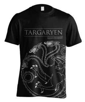 Game of Thrones T-Shirt Targaryen House Outline